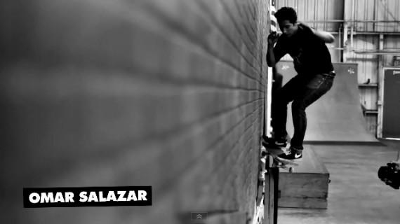 skateboard 動画 Omar Salazar