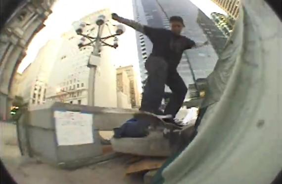 スケートボード動画 Zach  panebianco