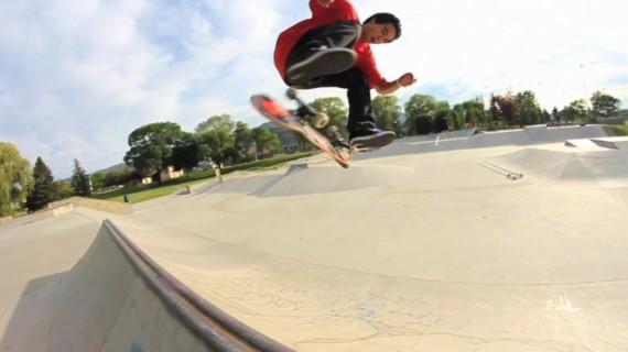 スケートボード動画 Derek Swaim