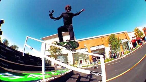 スケートボード動画 Leo Romero