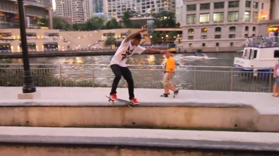 スケートボード動画 Chaz Ortiz