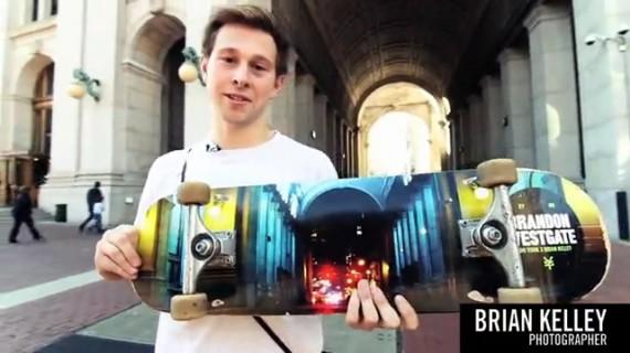 スケートボード動画 Brian Kelley