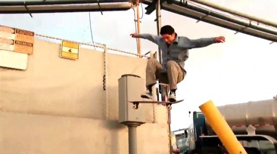 スケートボード動画 Victor Garibay