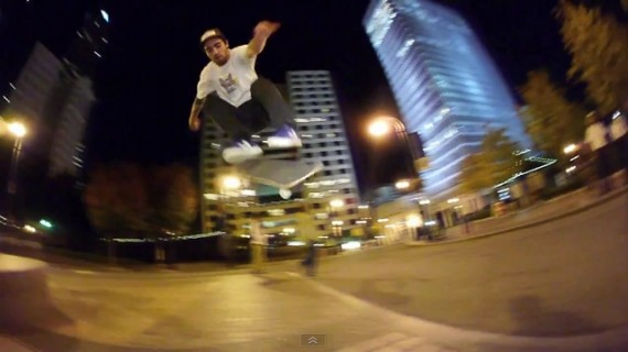 スケートボード動画 Dan Plunkett