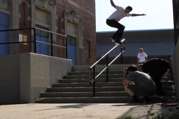 スケートボード動画 JT Aultz