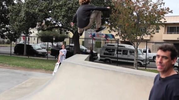スケートボード動画 Curren Caples