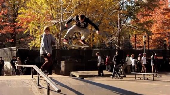 スケートボード動画 Brandon Westgate